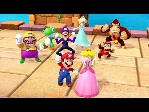 Super Mario Party - All 8 Vs 8 Minigames