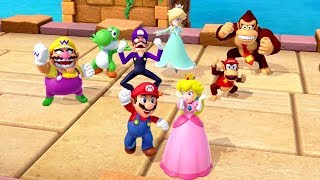 Super Mario Party - All 8 vs 8 Minigames