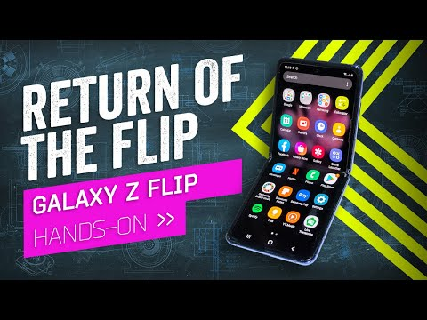 Samsung Just Brought Back The Flip Phone: Galaxy Z Flip Hands-On