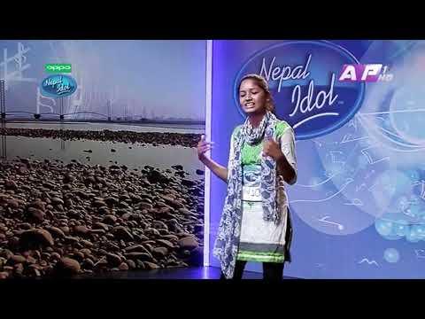 Eco पनि लाग्यो Account पनि लाग्यो Nepali Rapper KARISHMA Nepal idol season 2 Dhangadhi Audition