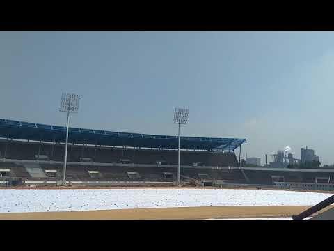 Jrd sports complex jamshedpur renovation for isl
