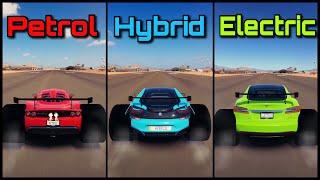 The Ultimate Dragster Battle!   Forza Horizon 3   Venom GT vs BMW i8 vs Tesla Model S