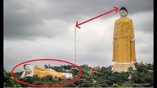 SUPER RAKSASA!!! 10 Patung TERBESAR di Dunia