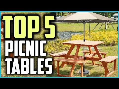 Top 5 Best Outdoor Picnic Tables In 2019