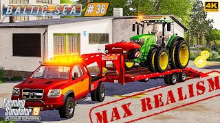 MAX REALISM in The Baltic Sea #36 ⭐ Farming Simulator 19 ⭐ 4K Timelapse