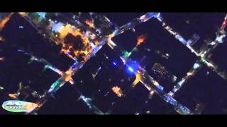 Municipality of Halandri Drone Night Time  (YOUR COMPANY SAMPLE)