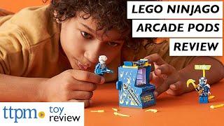 LEGO Ninjago Lloyd, Kai, and Jay Avatar Arcade Pods from LEGO