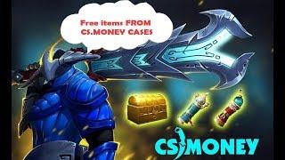 FREE DOTA2 ITEMS !! CSMONEY CASES