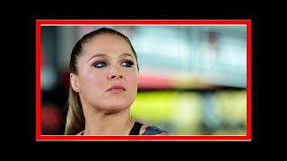 Ronda Rousey: 'Hearing me speak is a privilege that's been abused' By J.News
