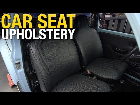 How to Reupholster a Car Seat – Volkswagen Bug Seat Repair & Restoration – Eastwood