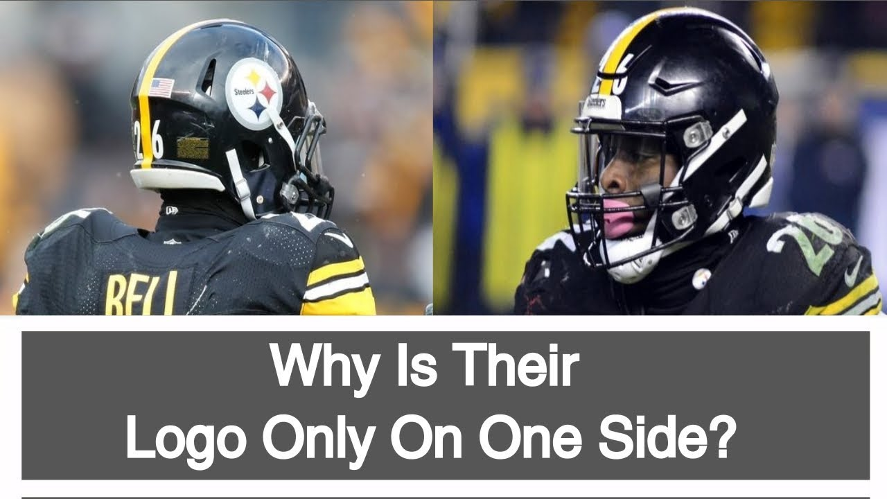 3007fa93e11 Why Is The Steelers Logo Only On One Side Of Their Helmet  Story Behind The  Steelers Logo. Football s Best