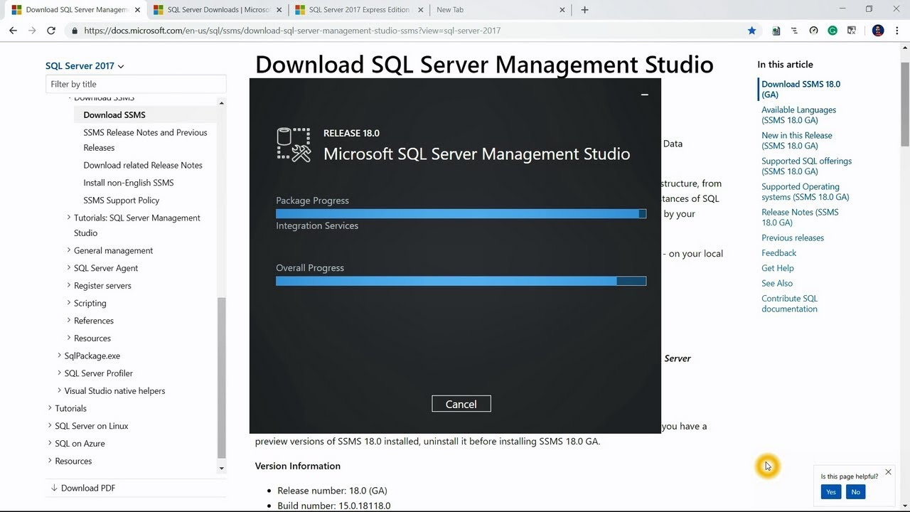 ssms download 2017 64 bit