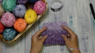 Яркий, летний, натуральный!!! Обзор хлопковой пряжи Denim от фабрики Himalaya. Вязание. Образцы