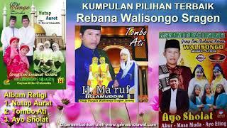 Gambar cover The Best Of 3 Album Religi Pilihan Terbaik - KH Makruf Islamuddin Rebana Walisongo