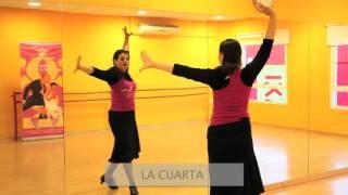Tutorial bailar sevillanas: la tercera y la cuarta