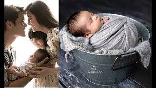 Marian Rivera and Dingdng Dantes Baby Ziggy 1st month Birthday Firs...