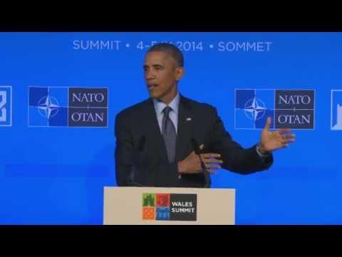 NATO Summit - US President Barack Obama press conference - Truthloader