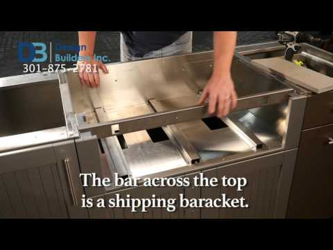 Danver Stainless Outdoor Kitchens: Appliance Cabinets
