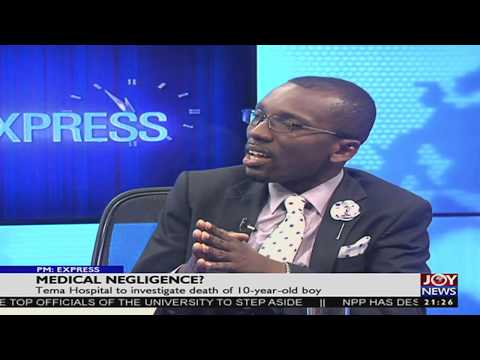 Health Care Delivery - PM Express on JoyNews (14-9-17)