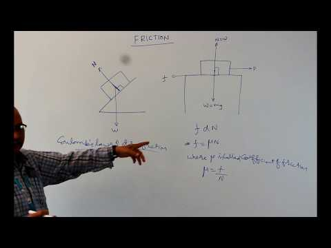 friction explanation || engineering mechanics ||