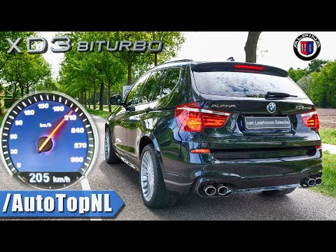 ALPINA XD3 BiTurbo ACCELERATION 0-205km/h LAUNCH CONTROL By AutoTopNL