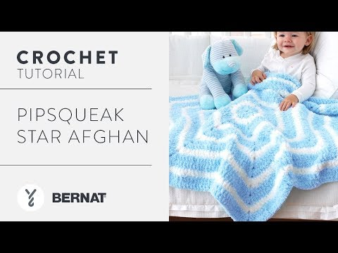 How To Crochet a Star Blanket