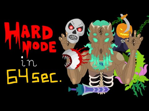 Hardmode In 64 Seconds (Terraria Animation)