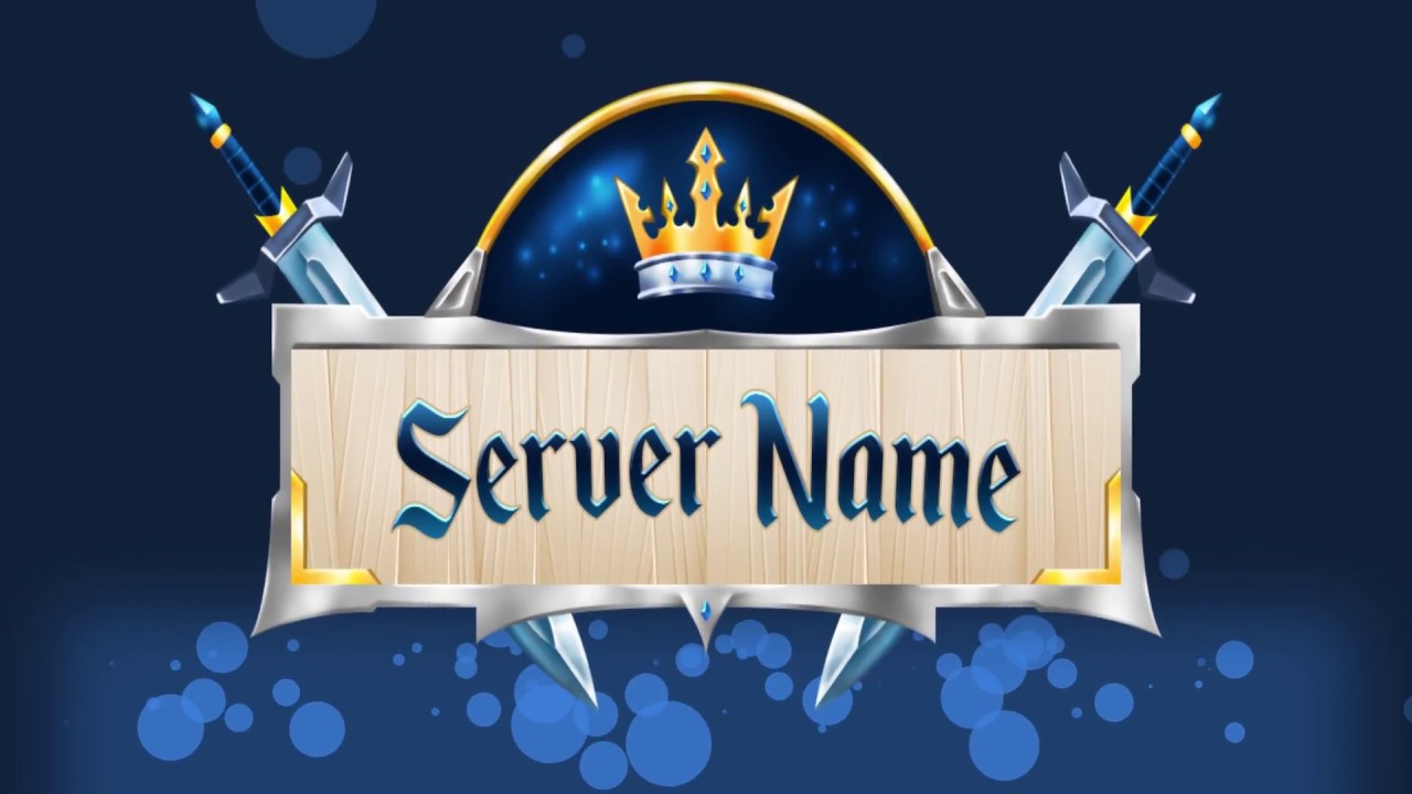Luxury Minecraft Server Logo Maker Youtube
