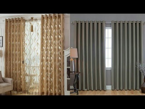 Latest curtain design for home interiors - Modern curtains for living room interior design 2021