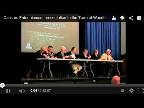 Caesars Entertainment presentation to the Town of Woodbury - June 2, 2014