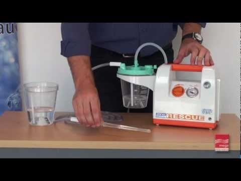 Operating a Portable Suction Pump - Demonstration