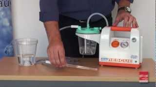 vuclip Operating a Portable Suction Pump - Demonstration