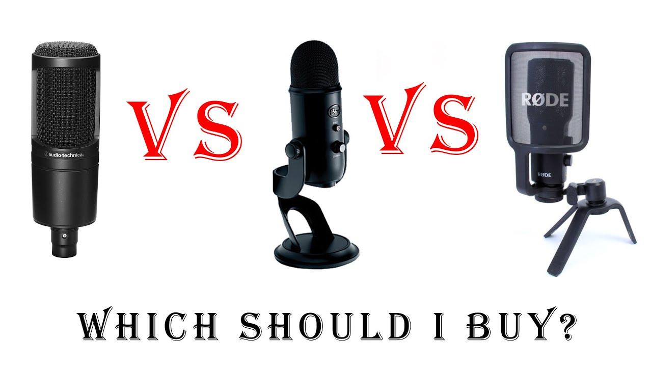 Blue Yeti vs Samson G-Track Pro Comparison (Versus Series) - YouTube
