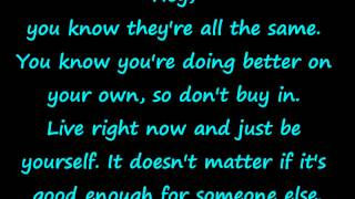 The Middle - Jimmy Eat World (With Lyrics)