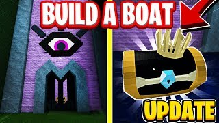 How To Get The Crown Chest In The NEW Hidden Forest on Build A Boat For Treasure In Roblox