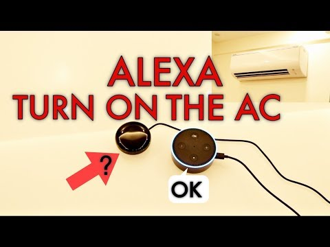 Control Your AC, TV, Etc Via Alexa Or Smartphone - Go Comma IR Device Review