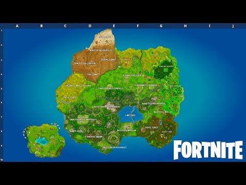 Tags of fortnite season 5 map   Cat Meme Tube Season 5 map leaked   fortnite  battle royale