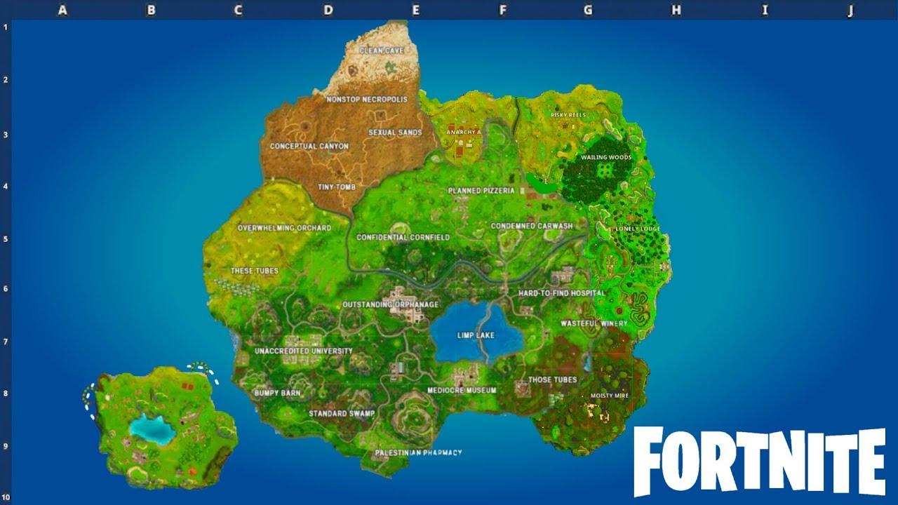 SEASON 5 MAP LEAKED! (Fortnite: Battle Royale)