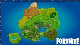 SEASON 5 MAP LEAKED! (Fortnite: Battle Royale)
