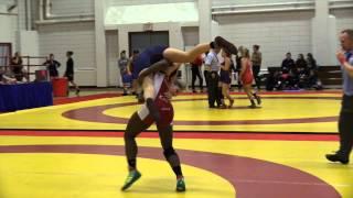 2015 Nordhagen Classic: 63 kg Temitope Ogunjimi vs. Lenee Figola