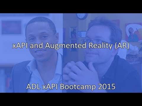 Team Def(initive) Jux(taposition) - xAPI and Augmented Reality (AR)