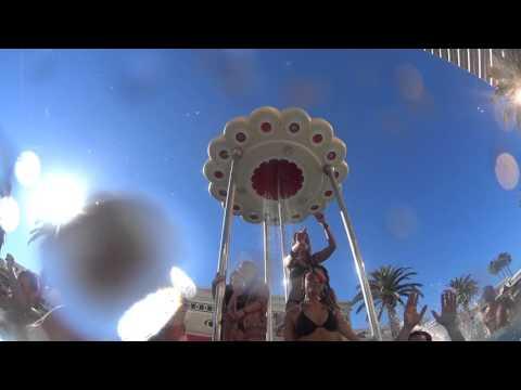 Las Vegas Encore Beach Club pool party