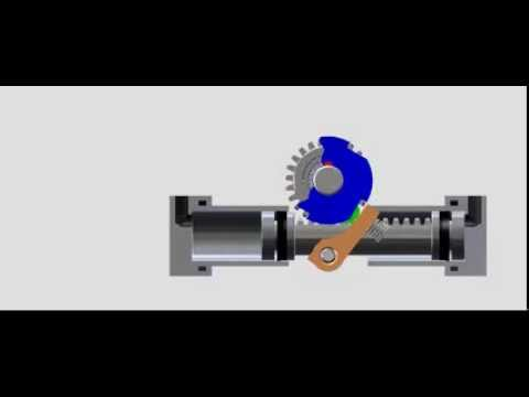Indexing Actuator Operation Youtube