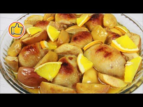 Куриные Бедрышки (Рулетики) с Апельсинами и Яблоками на Новогодний стол | Юлия Ковальчук