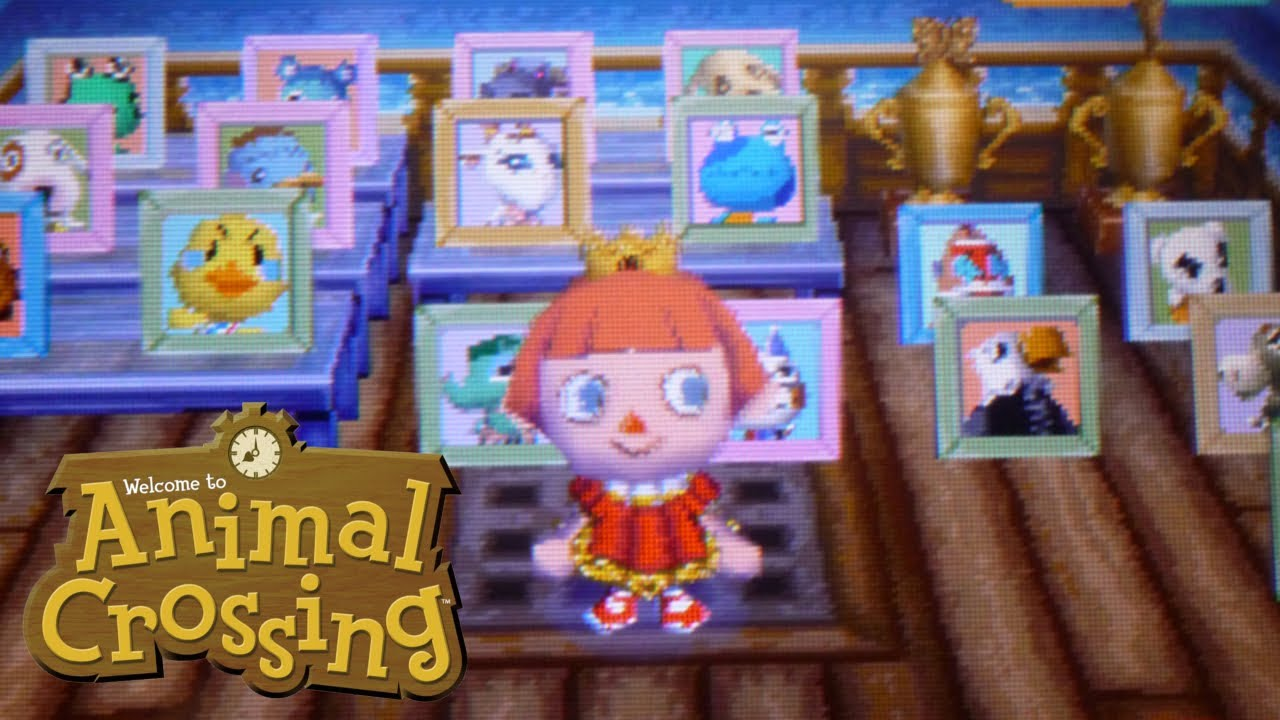 Mi Casa en Animal Crossing Wild World  YouTube - Animal Crossing Hairstyles