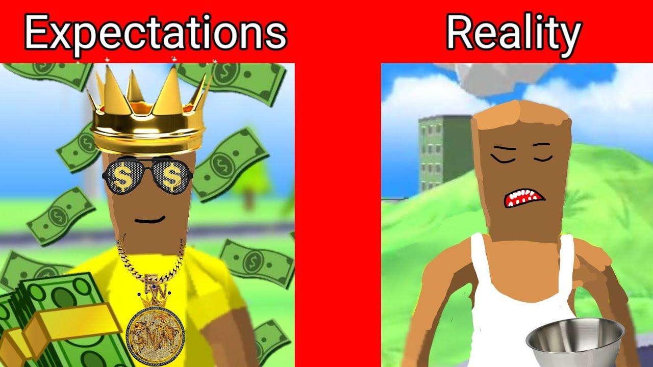 Dude theft wars expectations vs reality