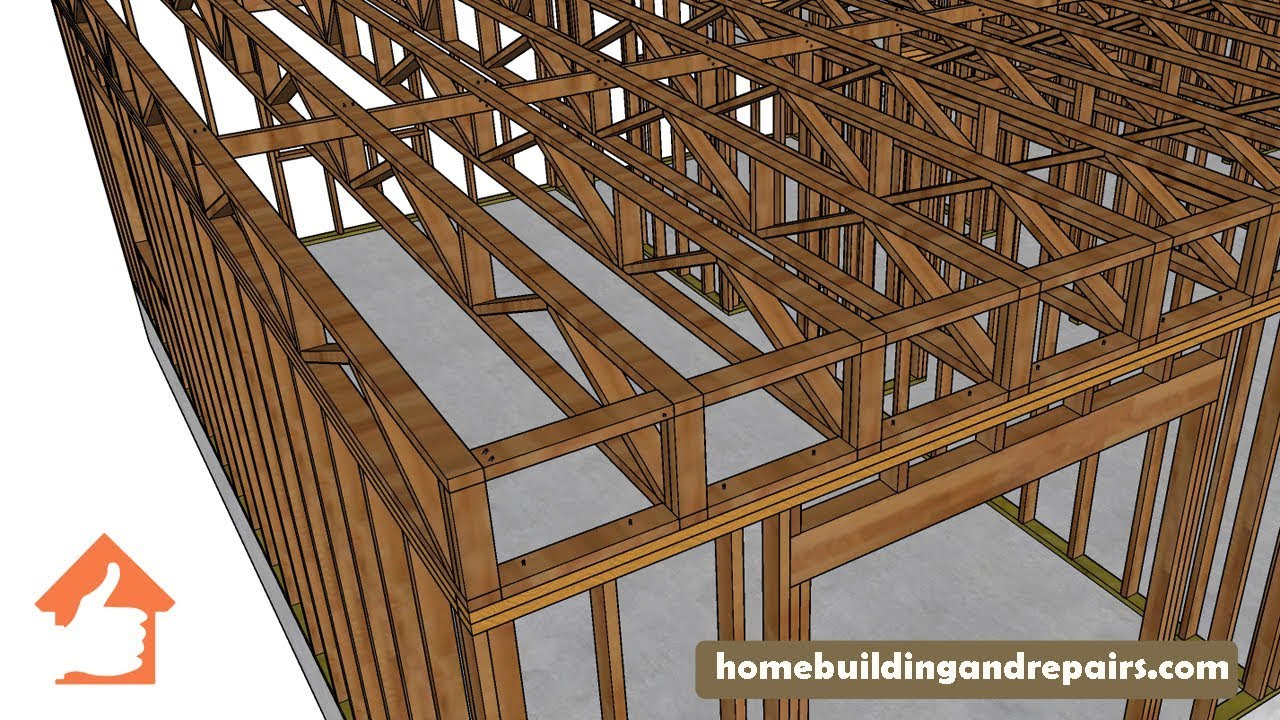 Blocking And Stabilizing Ideas For 2 X 4 Truss Floor Joists Youtube