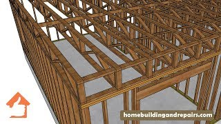 Blocking And Stabilizing Ideas For 2 x 4 Truss Floor Joists