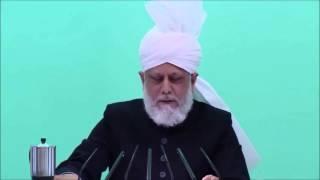 Le Calife de l'islam parle : Comment ce réformer ? Londres, 17 janvier 2014