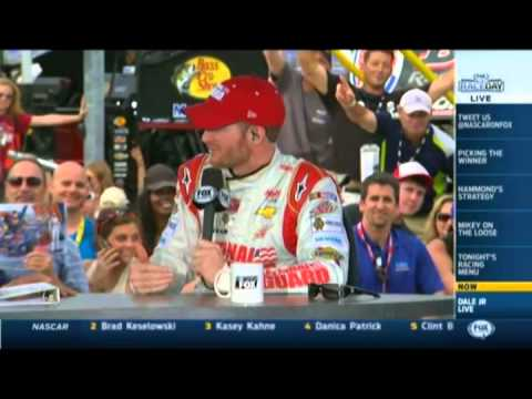 Dale Earnhardt JR Inducts National Guard into the Superman Hall of Heroes